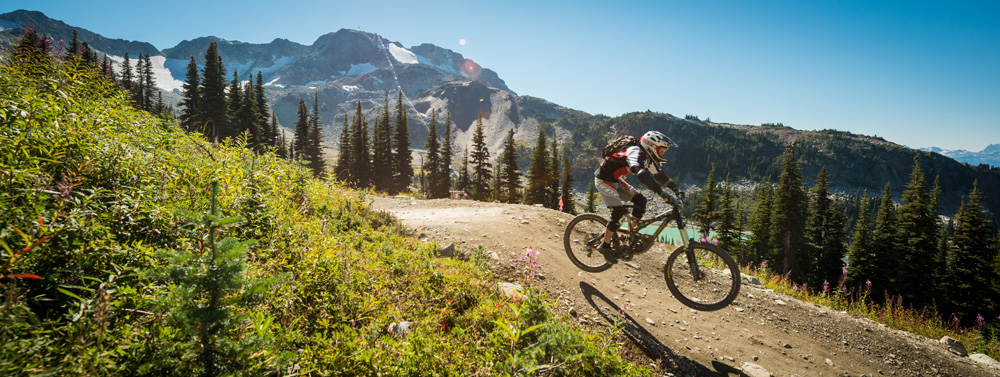 Alpine Mountain Biking Whistler