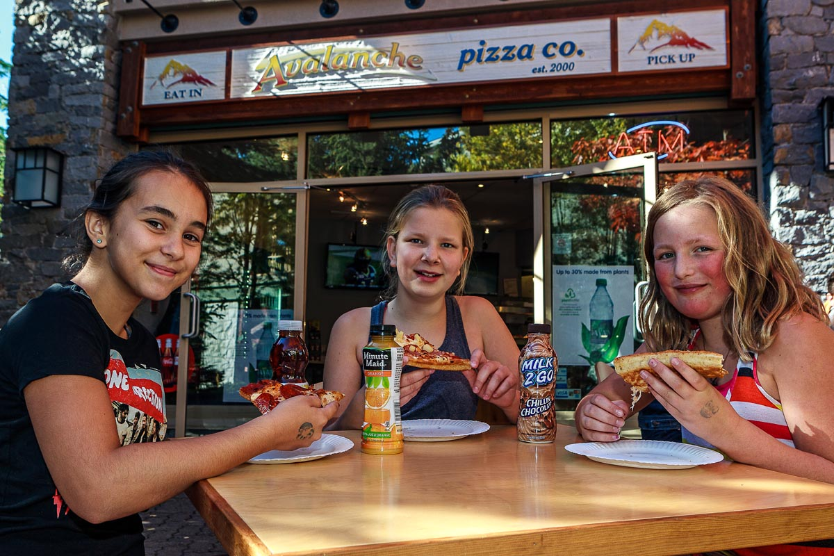 Whistler Family Friendly Dining