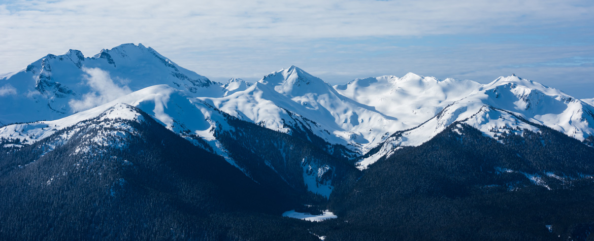Whistler Resort Mountains