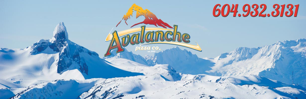 Avalanche Pizza Whistler